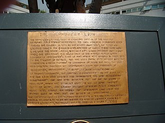 Metropolitan Borough of Bermondsey - Image: The Bermondsey Lion plaque, The Blue (Sep 2012)