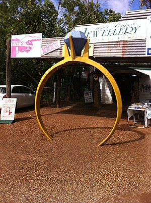 Central Queensland - The Big Sapphire Ring, Sapphire, 2012