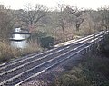 The Blackwater to Sandhurst railway line crossing the River Blackwater - geograph.org.uk - 659810.jpg