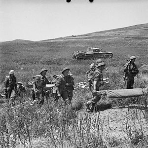 Battle of Longstop Hill (1943) - Image: The British Army in Tunisia 1943 NA2237
