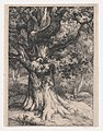 The Charlemagne, Oak Tree with an Eagle's Nest MET DP874265.jpg
