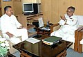 The Chief Minister of Chattisgarh, Dr. Raman Singh calls on the Union Minister for Rural Development and Panchayati Raj, Shri C.P. Joshi, in New Delhi on June 23, 2009.jpg