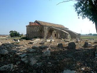 Angastina - The Church of Agios Therapon, Angastina, Cyprus, 2010. Photograph: C.Moisa