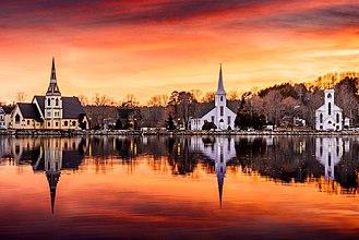 Mahone Bay, Nova Scotia - The Famous Three Churches of Mahone Bay
