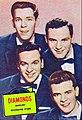 The Diamonds 1957.JPG