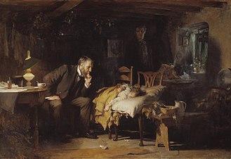 Medicine - The Doctor, by Sir Luke Fildes (1891)