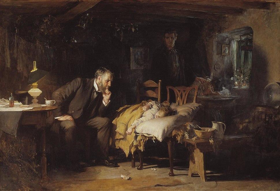 The Doctor Luke Fildes crop