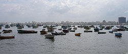 The East harbour of Alexandria.JPG