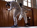 The Epee fencers Stamatis and Aris Koutsouflakis at Athenaikos Fencing Club.jpg
