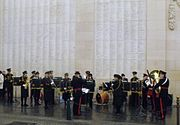 The Essex Yeomanry Band - The Menin Gate, Ypres
