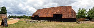 Coggeshall - Coggeshall Grange Barn, one of the oldest surviving timber-framed buildings in Europe