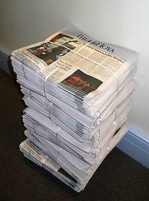 The Hoya - Image: The Hoya stack