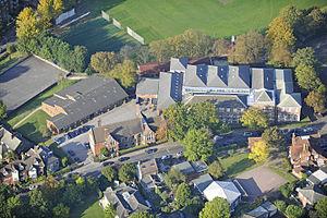 The John Lyon School - Image: The John Lyon School, Aerial View