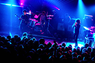The Mars Volta - Live at Birmingham Academy November 30, 2005 with drummer Jon Theodore.