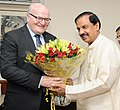 The Minister of Culture of Czech Republic, Mr. Daniel Herman meeting the Minister of State for Culture (IC) and Environment, Forest & Climate Change, Dr. Mahesh Sharma, in New Delhi on September 11, 2017.jpg