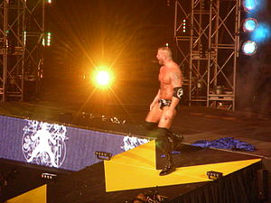 Matt Morgan - Morgan making his entrance at Slammiversary 2009.