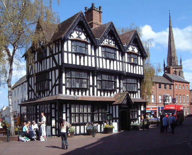 The Old House, High Town, Hereford - geograph.org.uk - 11172