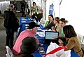 The Online Public Access and Social Media Tables at the Genealogy Fair.jpg
