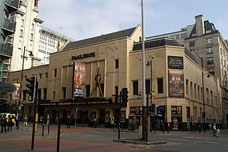 Palace Theatre, Manchester - Image: The Palace Theatre, Oxford Road geograph.org.uk 1223578