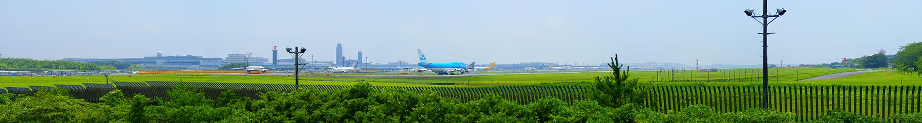 The Panorama view of Tokyo narita airport.jpg