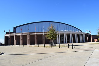 The Pavilion at Ole Miss - North side facing All American Drive