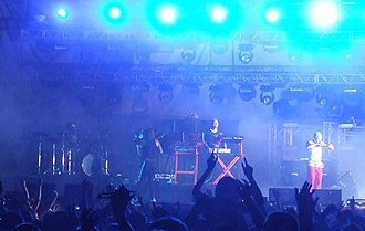 The Prodigy - Image: The Prodigy live in Romania