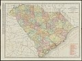 The Rand McNally new commercial atlas map of South Carolina (14004922492).jpg