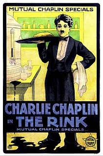 <i>The Rink</i> (film) 1916 film by Charlie Chaplin