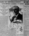 The San Francisco Call newspaper front page, thursday, feb 8 1906, featuring Thomas B. Bishop closer crop.png