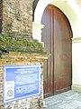 The UNESCO marker at Sta. Maria Church , Sta. Maria Ilocos Sur.JPG