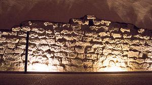 Vestiges of the Gallo-Roman wall, Grenoble - Image: The Vestiges of the Gallo Roman Walls (Grenoble)