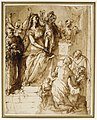 The Virgin and Child with Saint Joseph, Attendant Angels, and a Group of Supplicants MET DR486.jpg