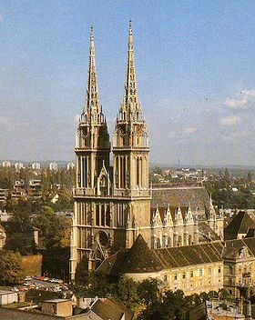 Zagrebacka Katedrala Wikipedia