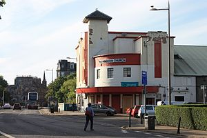 Sketchy Beats - The former State Cinema, Great Junction Street, Edinburgh, the current home of Sketchy Beats