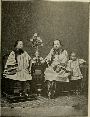 Cantonese people - Image: The mystic flowery land; a personal narrative (1896) (14775236851)
