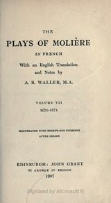 The plays of Molière - Waller - Volume 7.djvu