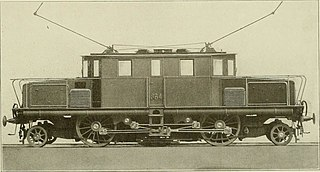 Rigid-framed electric locomotive