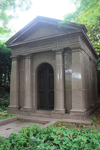 Donald Smith, 1st Baron Strathcona and Mount Royal - The vault of Lord Strathcona, Highgate Cemetery, London