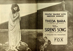 The Siren's Song (1919 film) - ad for film