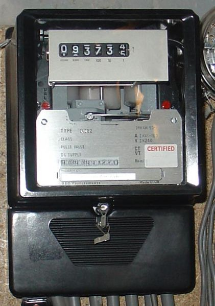 Traditional Power Meter : Prepayment prepaid energy meter introduction and working