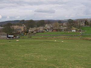 Threshfield - Looking east to Threshfield