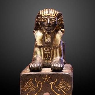 Bronze Sphinx of Thutmose III - Image: Thutmose III sphinx E 10897 IMG 0040 gradient