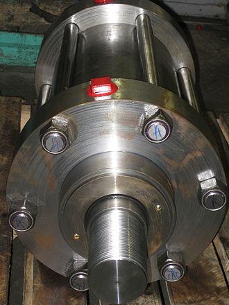 Hydraulic cylinder - A tie rod cylinder