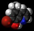 Tilbroquinol 3D spacefill.png