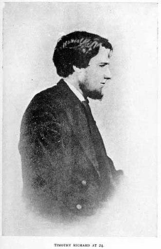 Timothy Richard - Portrait of Timothy Richard at age 24