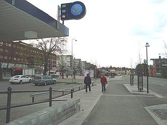 Timrå - Image: Timrå Centrum 1