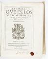 Titelblad till bibel på spanska från 1622 - Skoklosters slott - 93236.tif