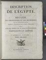 Title page, vol. 1 Description de l'Égypte, ... Antiquités. Planches. Tome première (NYPL b14212718-1267828).tiff