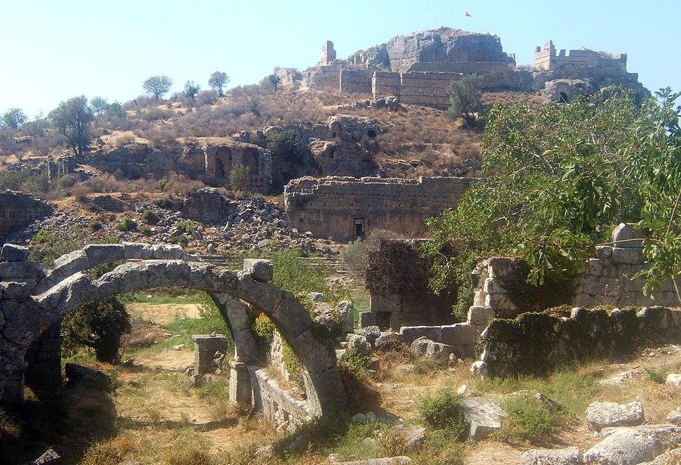Tlos ruins Turkey