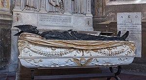 Costa Chapel (Santa Maria del Popolo) - Image: Tomb Cardinal Pietro Foscari, Santa Maria del Popolo, Rome, Italy